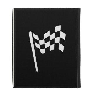 Folio a cuadros de Caseable del iPad del pictogram