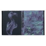Folio abstracto del iPad de los pescados