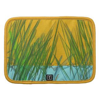 Folio amarillo del carrito del pantano organizador