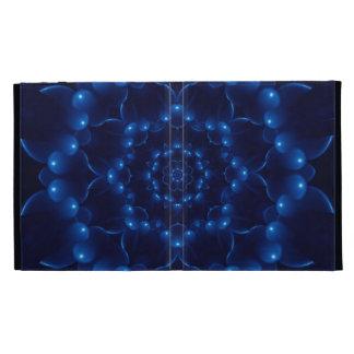 Folio azul eléctrico del iPad de Caseable de la
