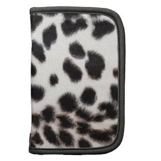 Folio blanco y negro de la impresión del guepardo organizadores