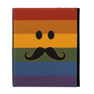 Folio de encargo del iPad del orgullo del bigote