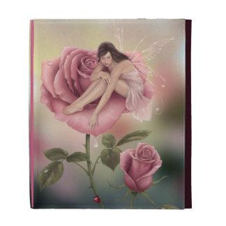 Folio de hadas del iPad de Caseable de la flor col