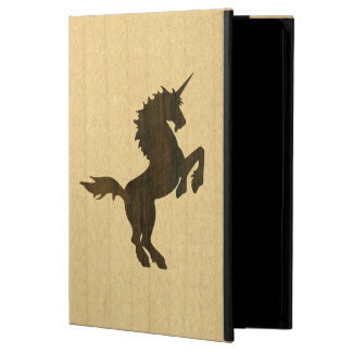Folio de la caja del aire del iPad del unicornio