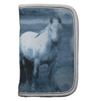 Folio de la cartera de la soledad del caballo planificadores