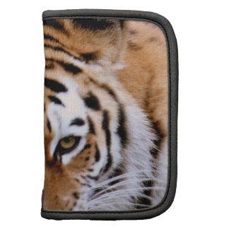 Folio de la cartera de las marcas del tigre organizador