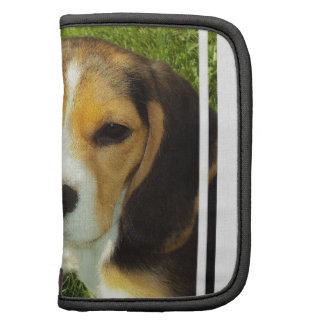 Folio de la cartera del beagle planificadores