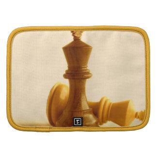 Folio de la cartera del jaque mate del ajedrez organizadores