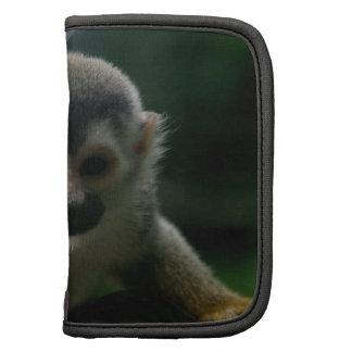 Folio de la cartera del mono de araña organizadores