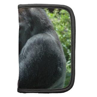 Folio de la cartera del resplandor del gorila organizadores