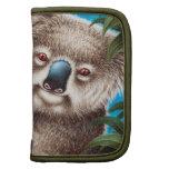 Folio de la koala y del carrito del bebé organizador