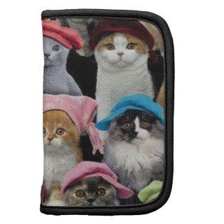 Folio de los amantes del gato mini organizador