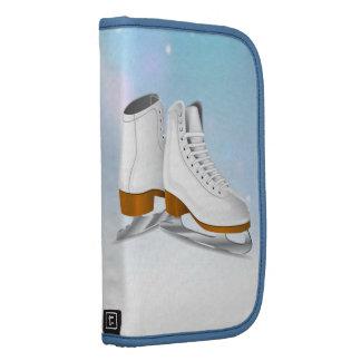 Folio de los patines de hielo organizadores