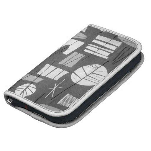 Folio de Smartphone: 2 GEOMÉTRICOS - LAGUNA GRIS Planificador