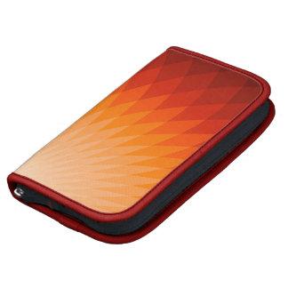 Folio de Smartphone de la salida del sol Organizador