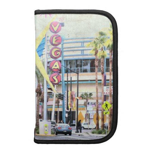 Folio de Smartphone del carrito de Las Vegas Planificador
