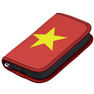 Folio del carrito de la bandera de Vietnam Planificador