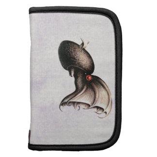 Folio del carrito del calamar del vampiro organizadores