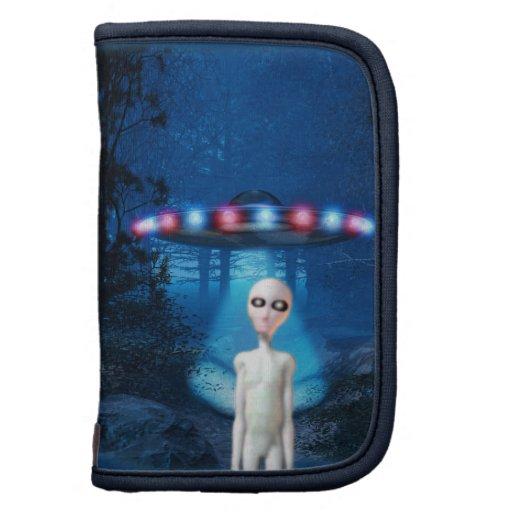 Folio del carrito del encuentro del cierre del UFO Planificador