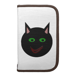 Folio del carrito del gato negro de Halloween Organizador