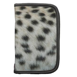 Folio del estilo del guepardo organizadores