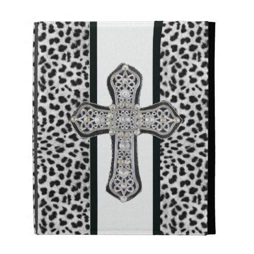 Folio del iPad de Caseable de la cruz del diamante