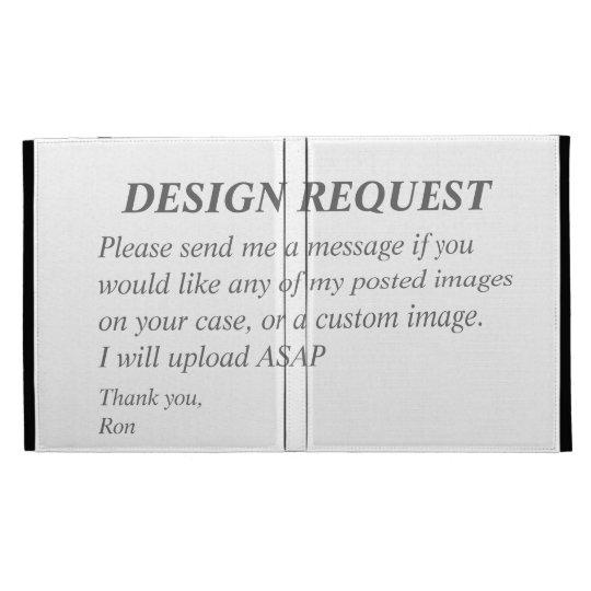Folio del iPad de Caseable de la petición del