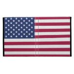 Folio del iPad de la bandera americana
