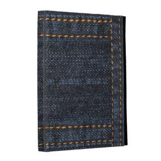 Folio del iPad de la impresión de los tejanos del
