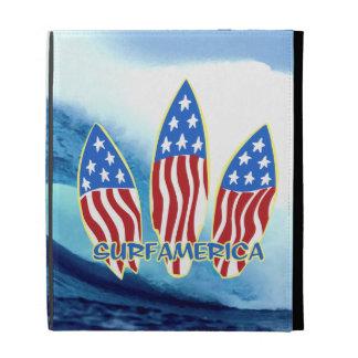 Folio del iPad de la onda de las tablas hawaianas