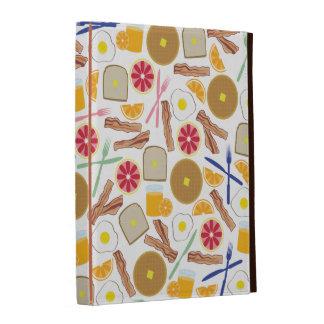 Folio del iPad de las comidas de desayuno
