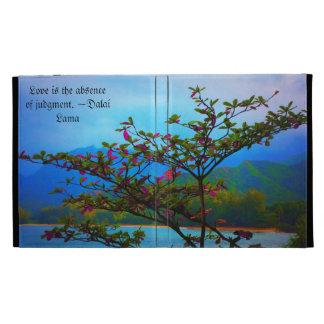 Folio del iPad del Inspirar-Arbusto/del océano/de