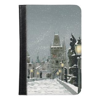 Folio del iPad del puente de Charles mini