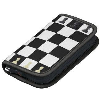 Folio del tablero de ajedrez planificadores