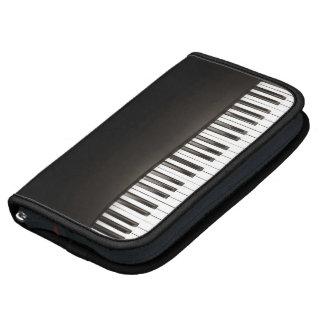 Folio del teclado de piano planificadores