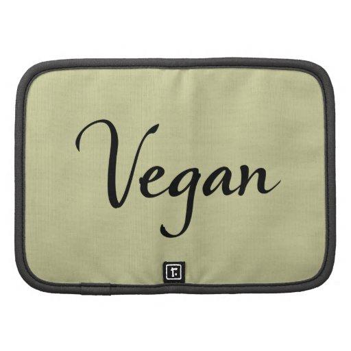 Folio del vegano planificador