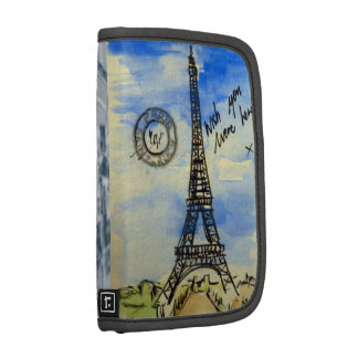 Folio del viaje de París Organizador
