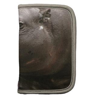 Folio enano de la cartera del hipopótamo planificadores