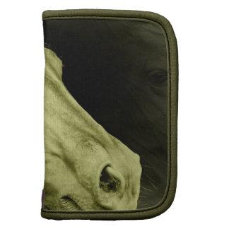 Folio equino de la cartera del arte organizadores