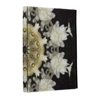 Folio floral del iPad del caleidoscopio de la flor
