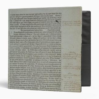 Folio from Pierre d'Ailly's 'Imago Mundi' Binder