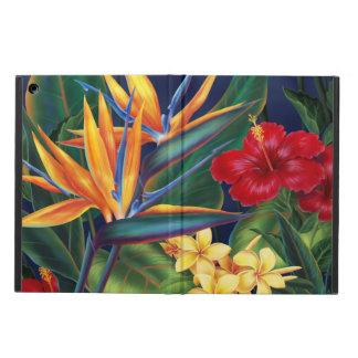 Folio hawaiano del aire del iPad del paraíso