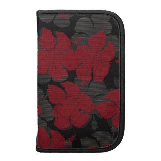 Folio hawaiano del carrito del hibisco del filón planificador