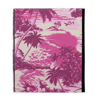 Folio hawaiano del iPad de la bahía de Napili