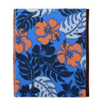 Folio hawaiano del iPad del hibisco de la bahía de
