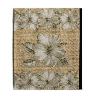 Folio hawaiano del iPad del hibisco de Lanai