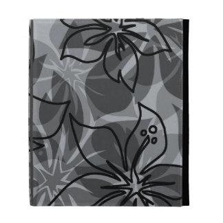 Folio hawaiano del iPad del hibisco de Olowalu