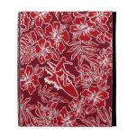 Folio hawaiano del iPad del hibisco de Pareau de l