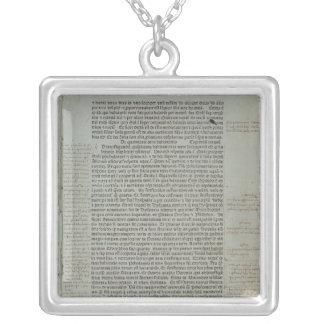 Folio Imago Mundi de Pierre d'Ailly del ' Collar Plateado