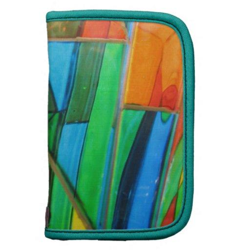 Folio--Naranja del vidrio de Murano Planificadores